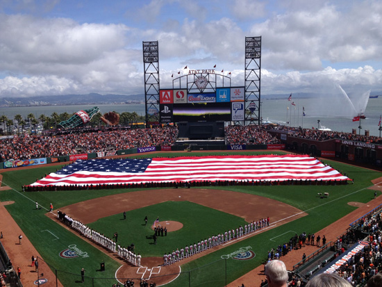 Opening Day 2012 @ AT&T Park