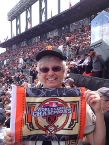 Joan was a Giants fan when they were in NY