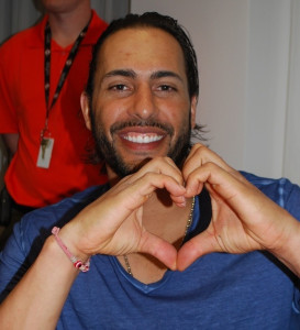 Michael Morse shows his heart